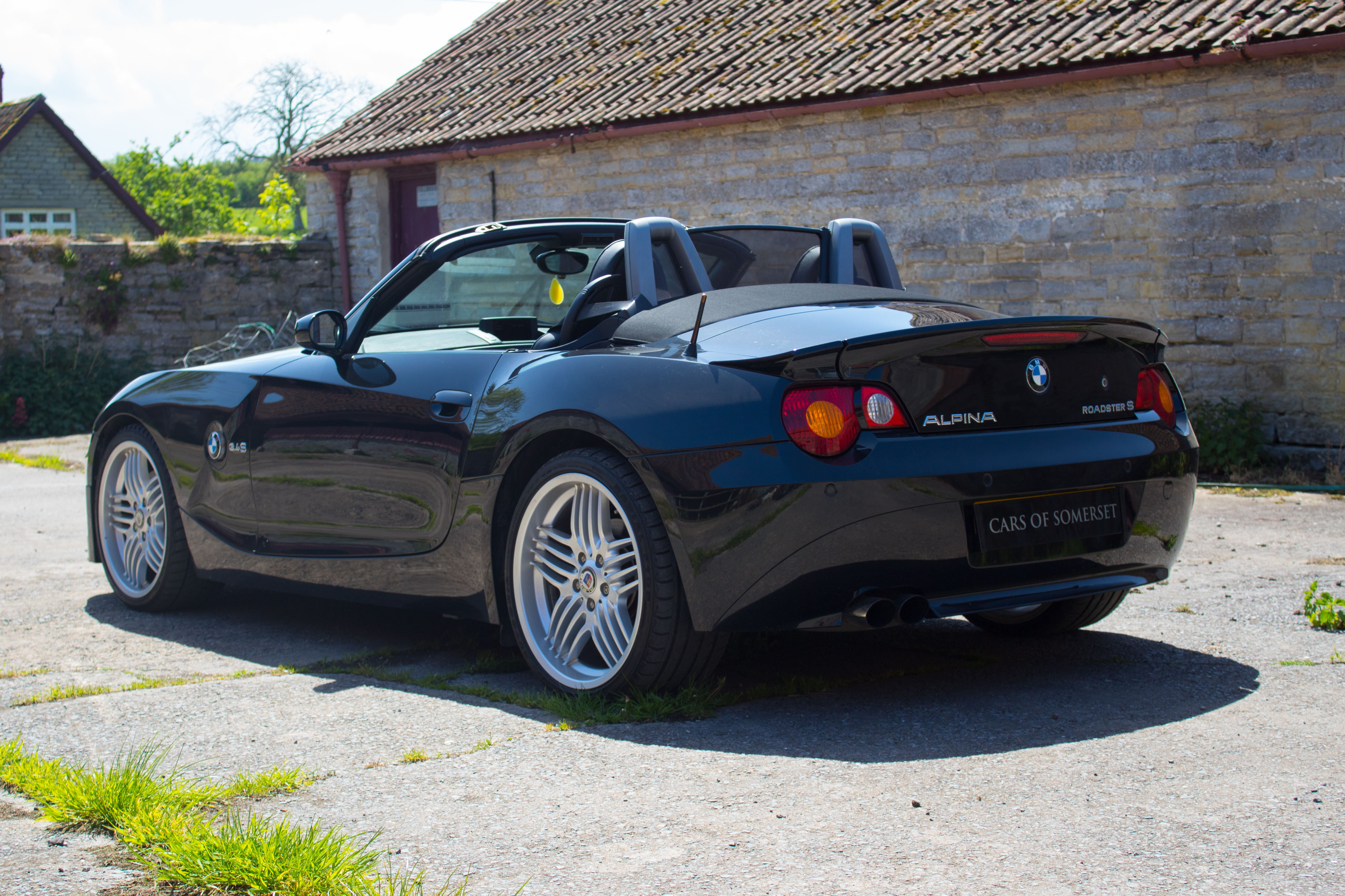 Sold 2005 Bmw Z4 Alpina Roadster 3 4 S Cars Of Somerset