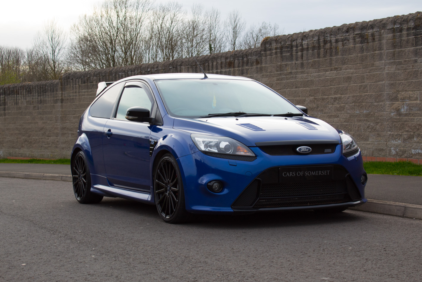 Sold 2009 Ford Focus Rs Blue Cars Of Somerset